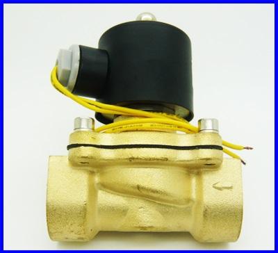 โซลินอยด์วาล์ว ปิดเปิดน้ำ เปิดปิดแก๊ซ ปิดเปิดน้ำมัน 12V DC 1 inch DN25 Electric Solenoid Valve Diesel Gas Water Air