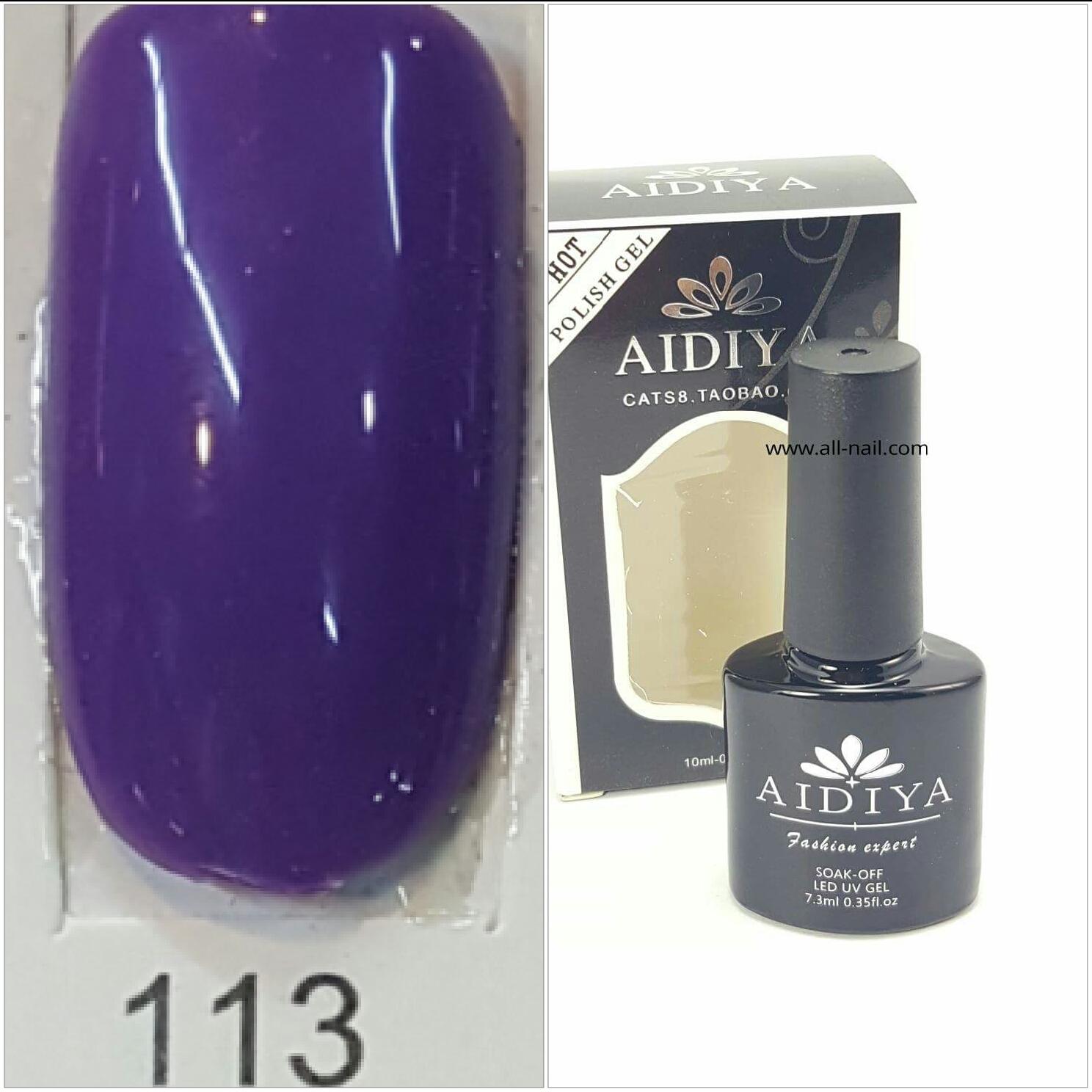 สีเจลทาเล็บ AIDIYA #113