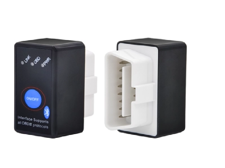 Super Mini Bluetooth ELM327 OBD2 Diagnostic Scanner With Power Switch (Intl)