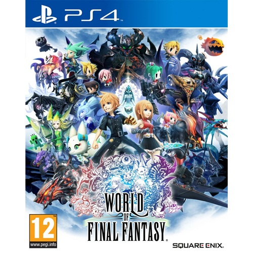 PS4: World of Final Fantasy (Z2) - Eng [ส่งฟรี EMS]