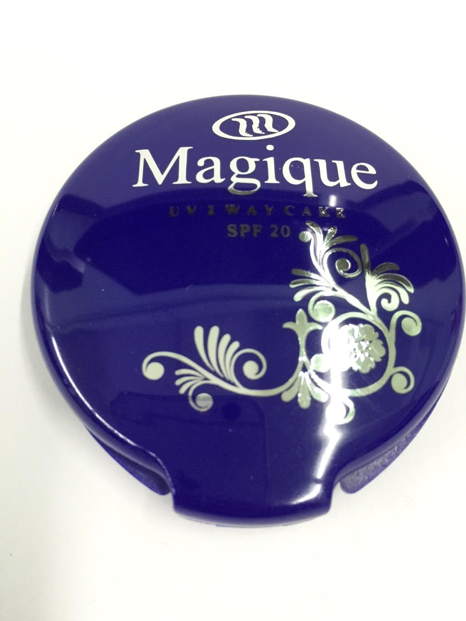 Magique UV 2 Way Foundation Cake แป้งหน้าเด้ง