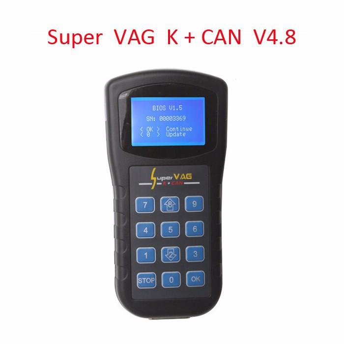 แพค 5 ชิ้นShipping High Quality SUPER VAG K + Can Plus 4.8 Super VAG K+CAN 4.8 Super VAG K CAN 4.8 Price:US $345.00 / lot 5 pieces / lot