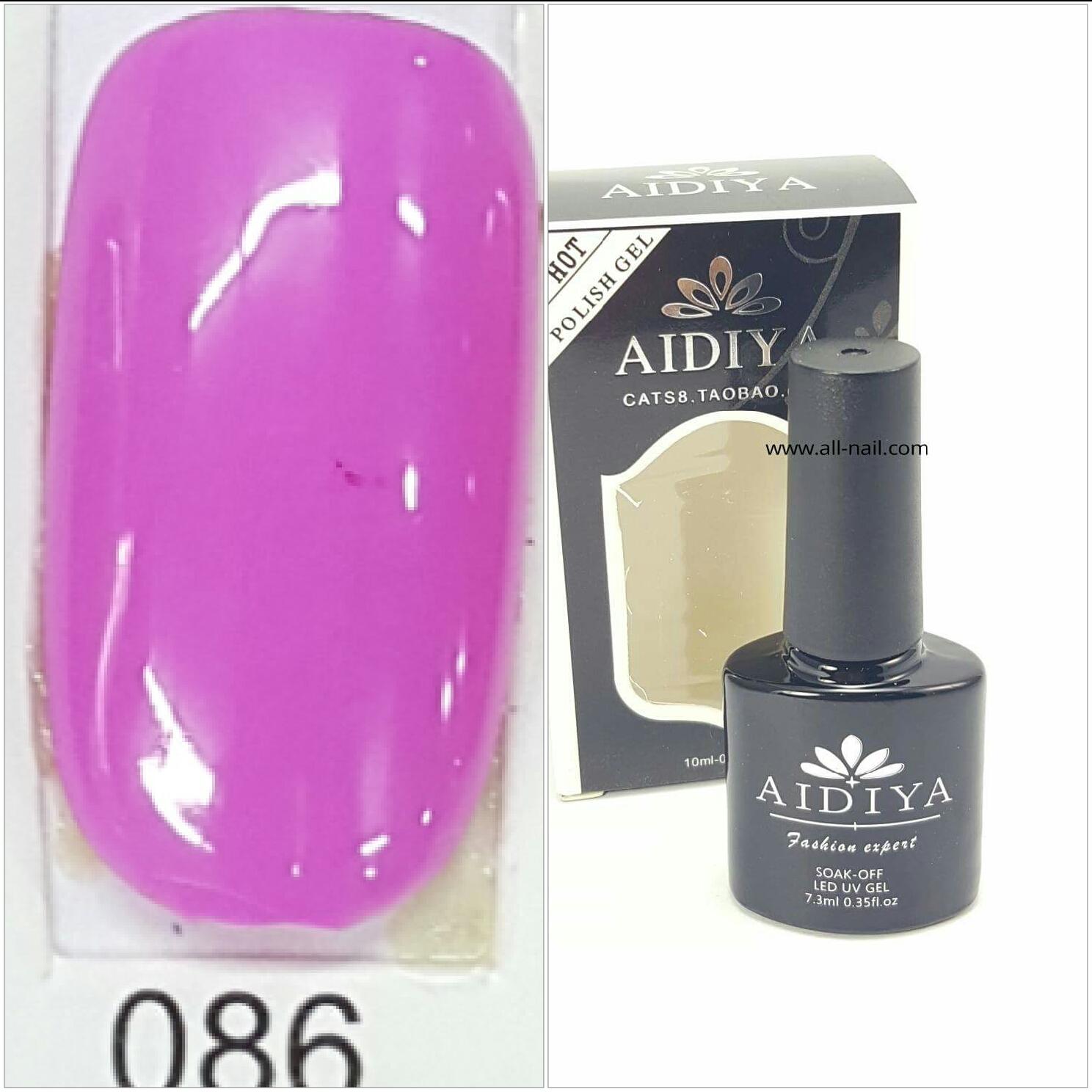 สีเจลทาเล็บ AIDIYA #086