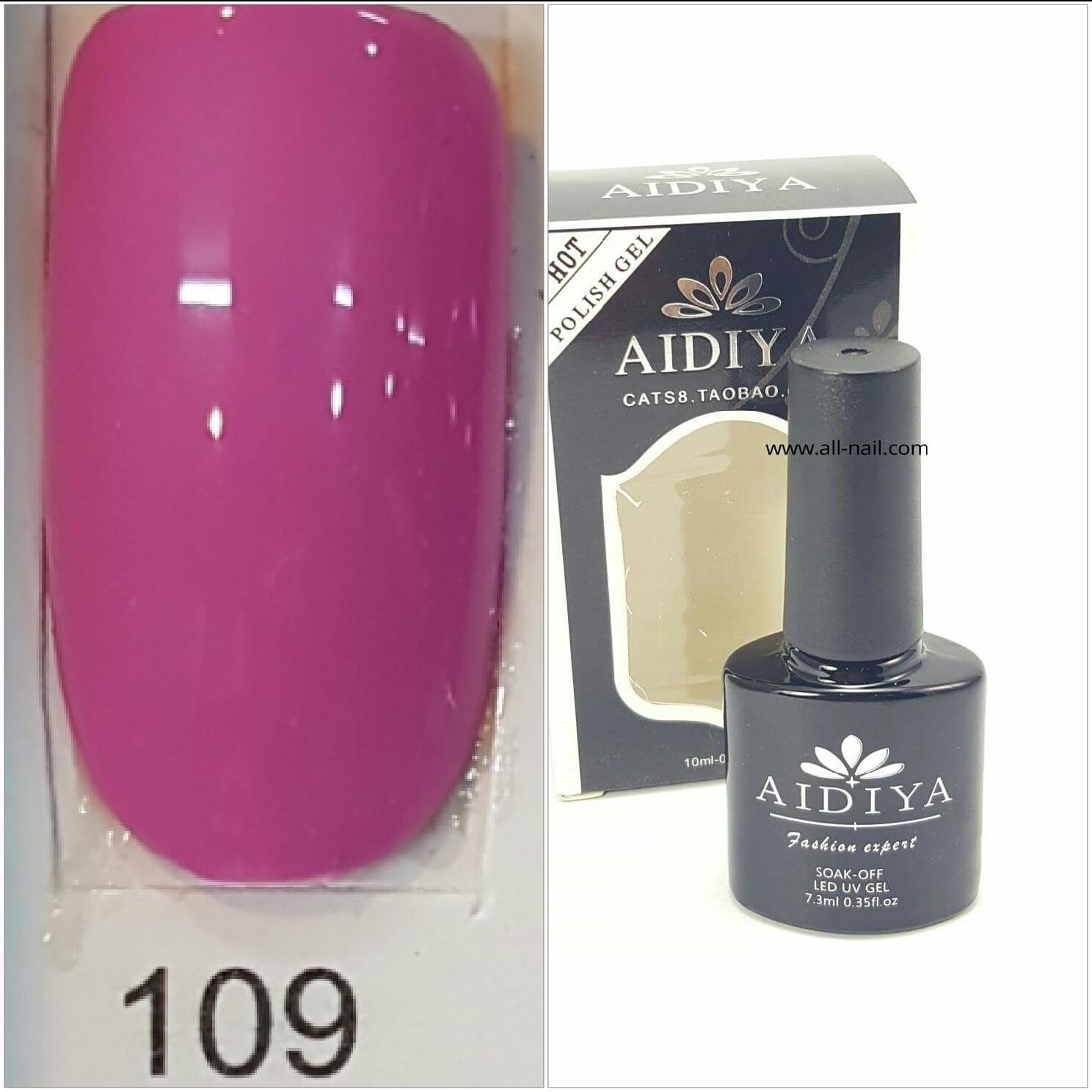 สีเจลทาเล็บ AIDIYA #109