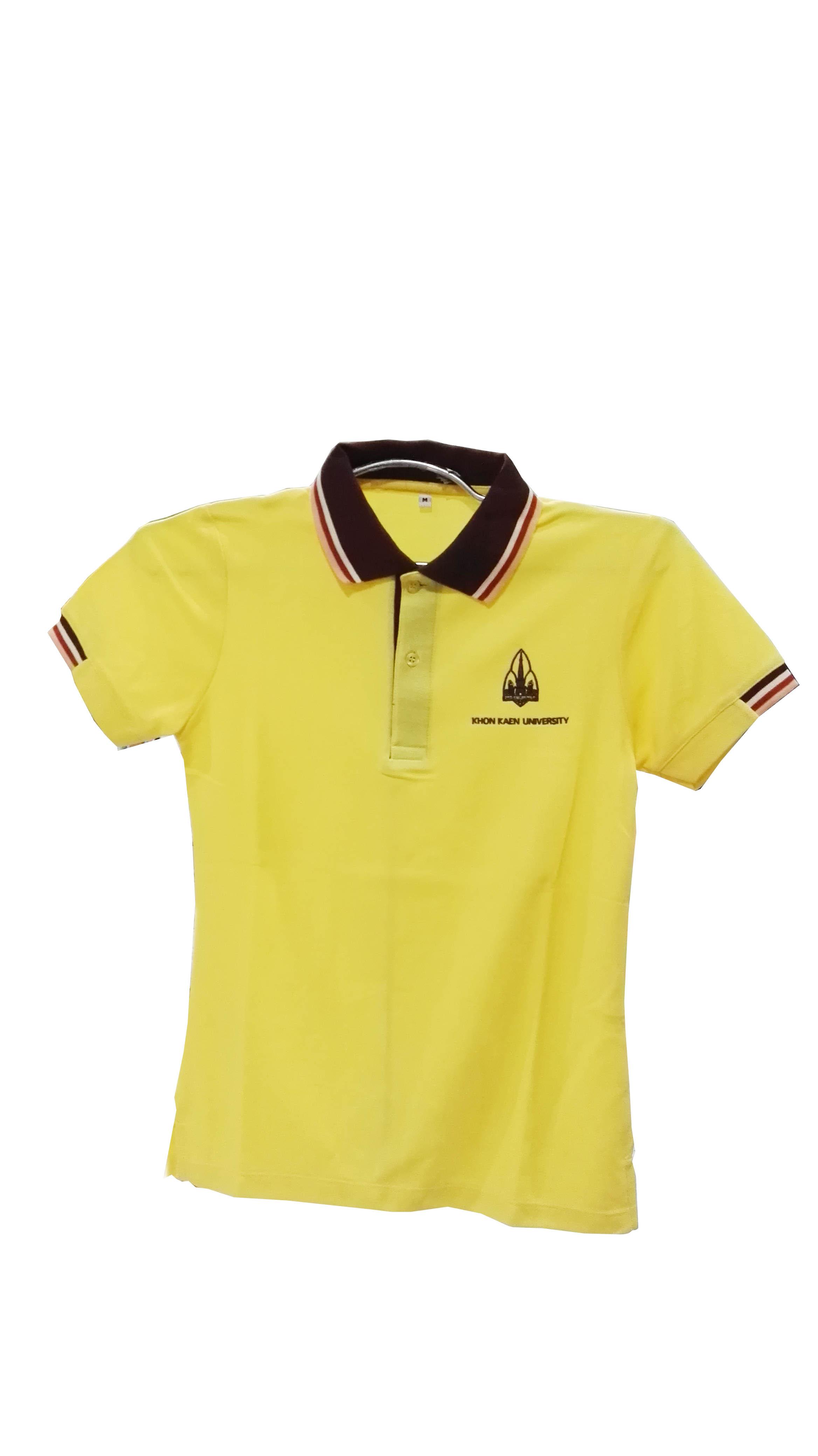 เสื้อโปโลเหลือง Size XL(หญิง)