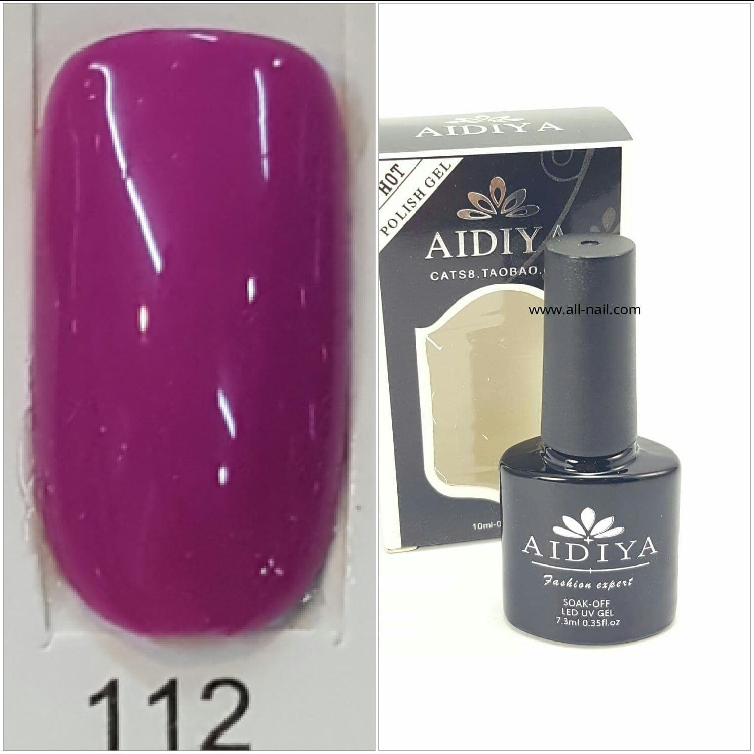 สีเจลทาเล็บ AIDIYA #112