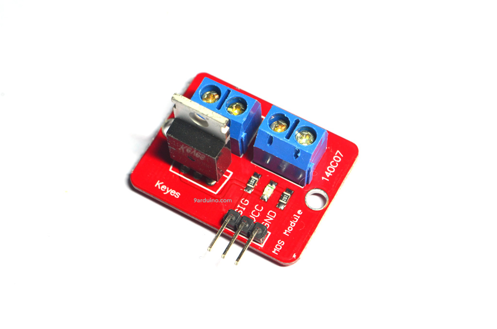 IRF520N Power Electronic MOSFET Switch Relay รีเลย์แบบอิเล็กทรอนิกส์ For Arduino