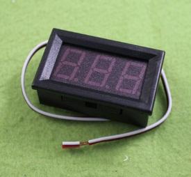 DC voltmeter ขนาดความสูงตัวอักษร 0.56 inch LED digital voltmeter DC 0V-30.0V