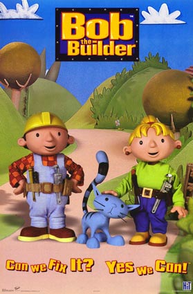 Bob The Builder / บ๊อบรถตักมหาสนุก / 2 แผ่น V2D (พากย์ไทย)