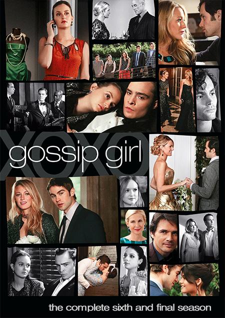 Gossip Girl Season 6 / กอสซิป เกิร์ล แสบใสไฮโซ ปี 6 / 3 แผ่น DVD (บรรยายไทย)