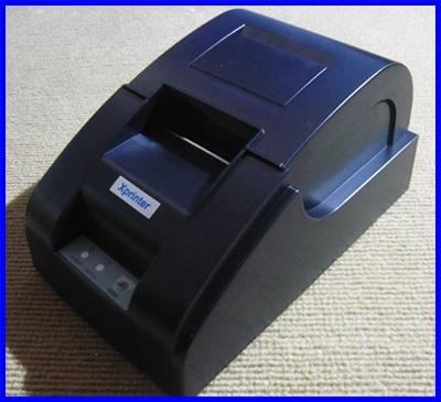 เครื่องพิมพ์ใบเสร็จ เครื่องพิมพ์สลิป เครื่องพิมพ์ใบเสร็จอย่างย่อ เครื่องพิมพ์ความร้อนขนาด 58มม Thermal printer 58 mm Speed 90 mm/sec Xprinter XP58IIIA