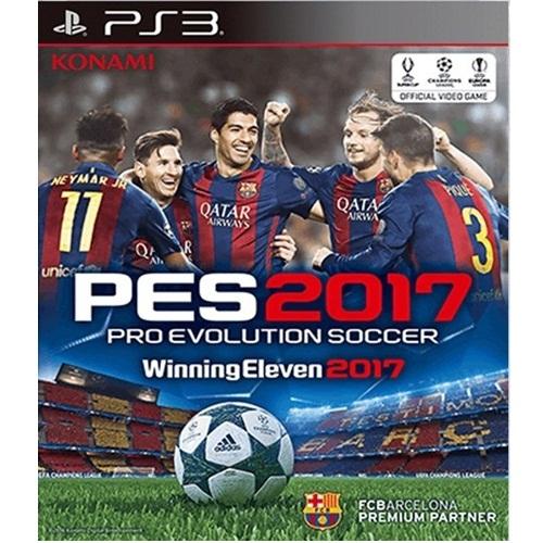 PS3: Winning Eleven 2017 [PES 2017] (Z3) [ส่งฟรี EMS]