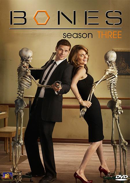 Bones Season 3 / โบนส์ พลิกซากปมมรณะ ปี 3 / 4 แผ่น DVD (บรรยายไทย)