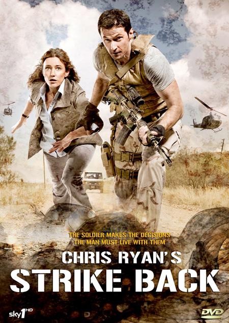 Strike Back Season 1 Chris Ryan's (2010) / สองพยัคฆ์สายลับข้ามโลก ปี 1 / 2 แผ่น DVD (บรรยายไทย)