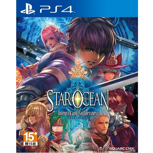 PS4: STAR OCEAN 5: Integrity and Faithlessness (Z3) - Japan [ส่งฟรี EMS]