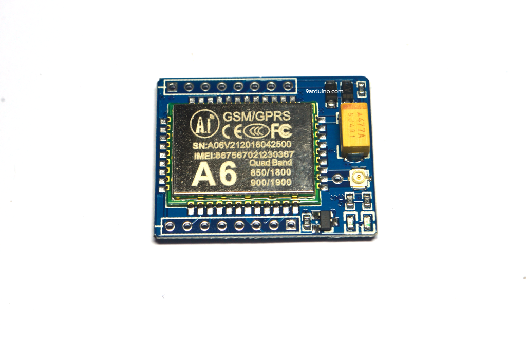 A6 mini GPRS/GSM module Quad-Band (850,9001800/1900)
