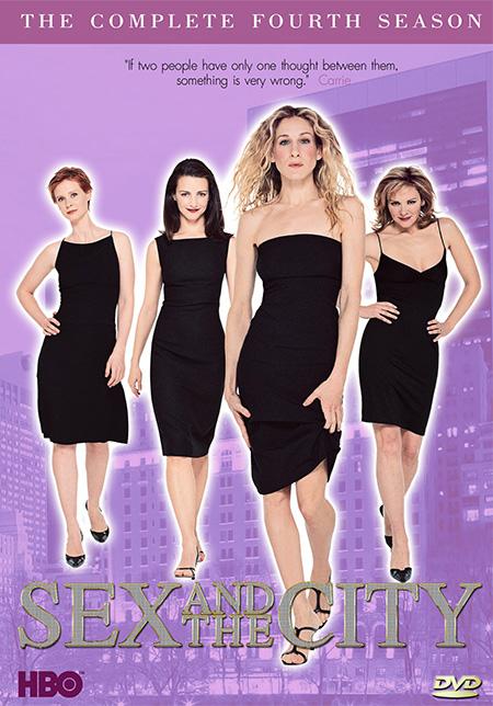 Sex and the City Season 4 / เซ็กส์ แอนด์ เดอะซิตี้ ปี 4 / 6 แผ่น DVD (บรรยายไทย)