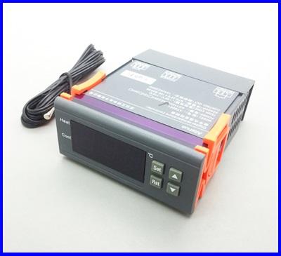 เครื่องวัดอุณหภูมิ เครื่องควบคุมอุณหภูมิ 95-250V 10A Digital Temperature Controller MH1210 -50~110Degrees+Sensor