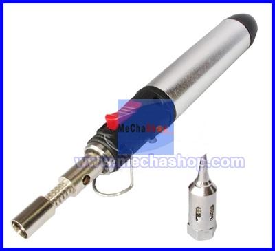 หัวแร้งใช้แก๊ส หัวแร้งแก๊ส Flame Butane Gas Soldering Iron Pen Torch Tools รุ่น HT-1937