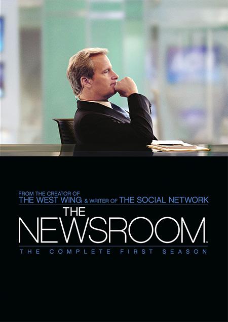The Newsroom Season 1 / เดอะ นิวส์รูม รวมพลคนข่าว ปี 1 / 4 แผ่น DVD (บรรยายไทย)