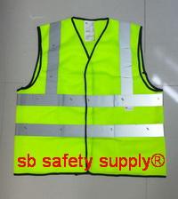 เสื้อสะท้อนแสง 3M-2925 สีเหลืองสะท้อนแสง