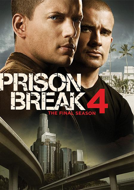 Prison Break Season 4 :The Final Season / แผนลับแหกคุกนรก ปี 4 / 6 แผ่น DVD (พากษ์ไทย+บรรยายไทย)