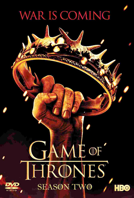 Game of Thrones Season 2 / มหาศึกชิงบัลลังก์ ปี 2 / 5 แผ่น DVD (บรรยายไทย)