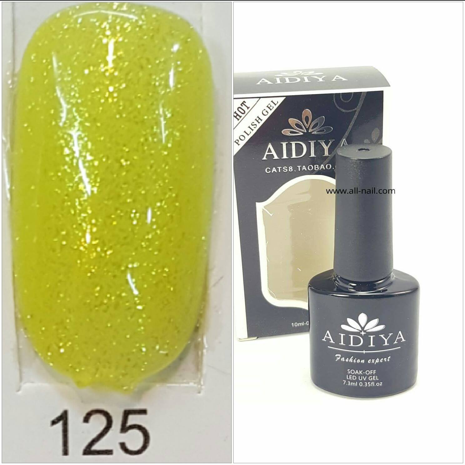 สีเจลทาเล็บ AIDIYA #125