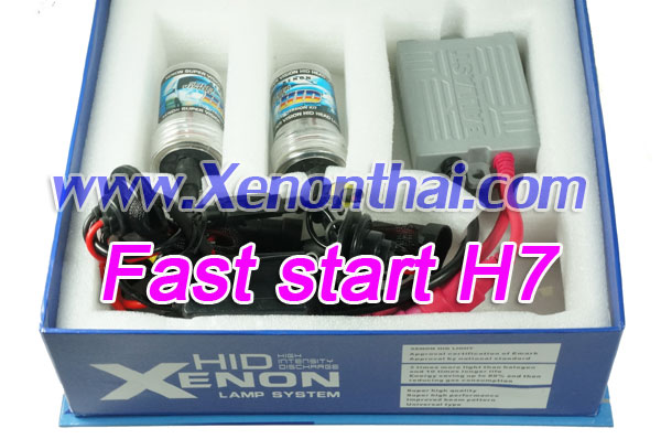ไฟ xenon kit H7 Fast start Ballast A6