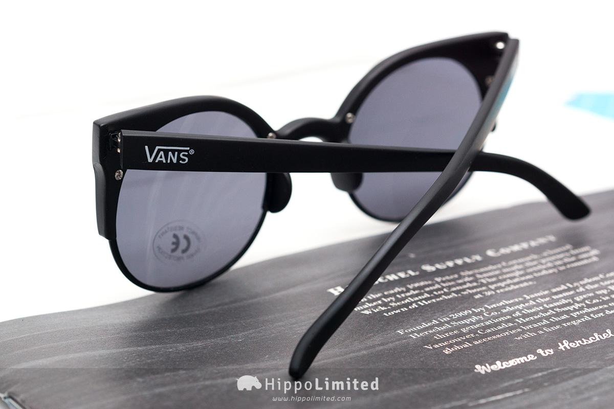 Vans Halls & Woods Sunglasses - Matte Black