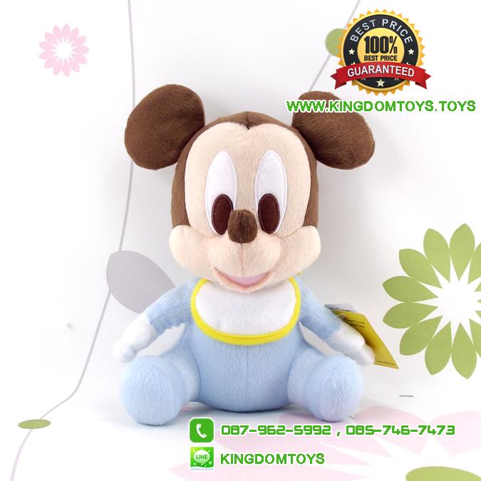 ตุ๊กตาเบบี้มิกกี้เมาส์ 10 นิ้ว ผ้า 1C [Disney]