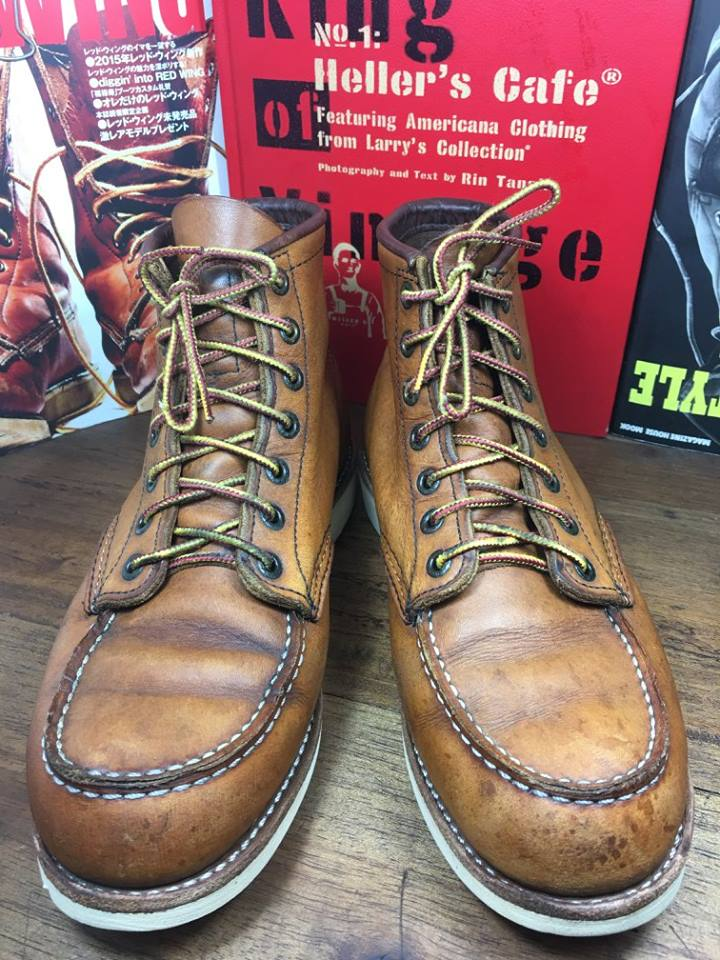27.RED WING 875 size 7E