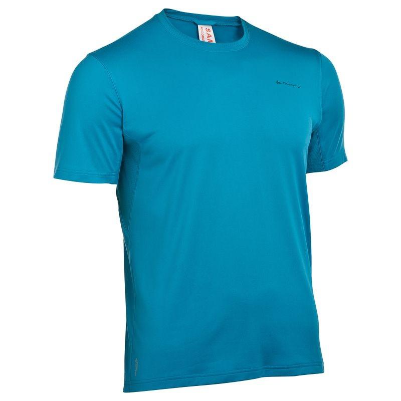 Quechua T-Shirt เดินป่า สำหรับผู้ขาย - Blue