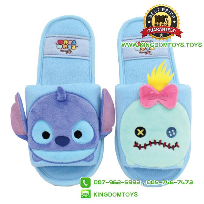 รองเท้าพื้นบาง สติช สกั๊ม ซูมซูม [Disney Tsum]