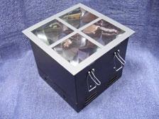 ดาวไลท์กล่องเหลี่ยมฝาปิดตูด 4 ช่อง