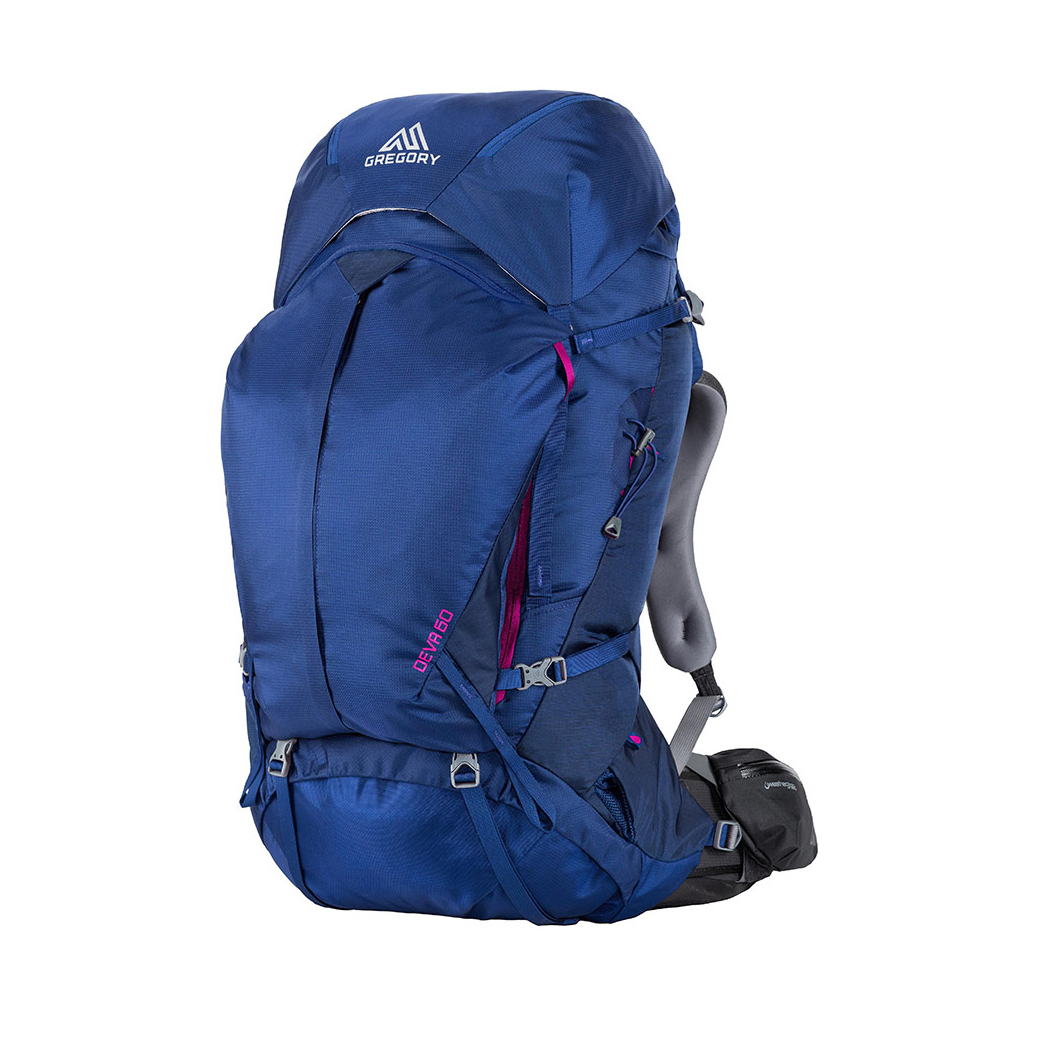 GREGORY Deva 60 A3 for Women - Egyptian Blue
