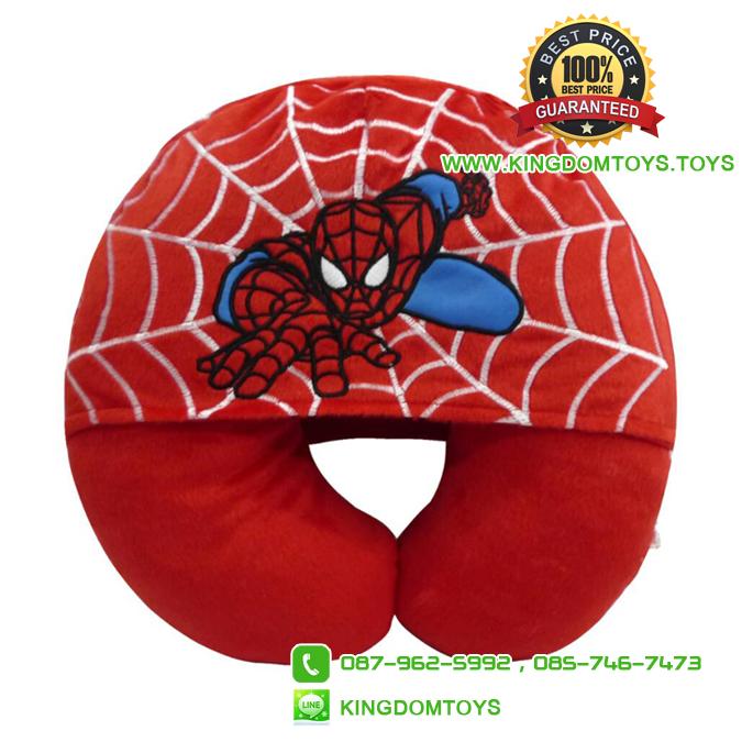 หมอนรองคอ สไปเดอร์แมน Spider Man มีฮู้ด [Marvel]