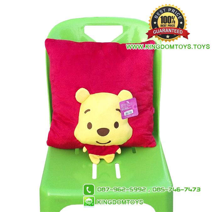 หมอนอิง Cutie Pooh Spring 3D [Disney]