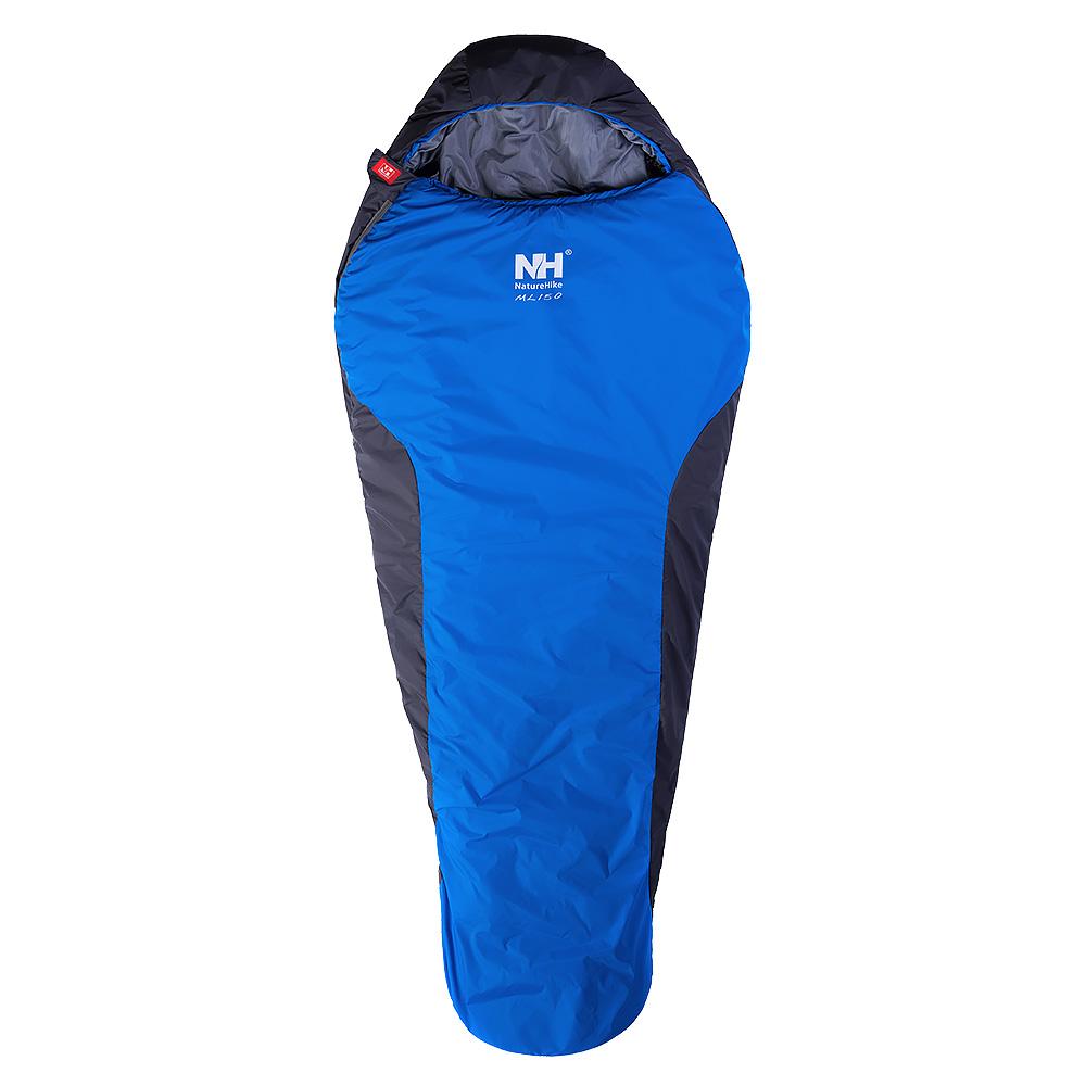 NATURE HIKE - Mummy Sleeping Bag สำหรับ 9 องศา (Blue)