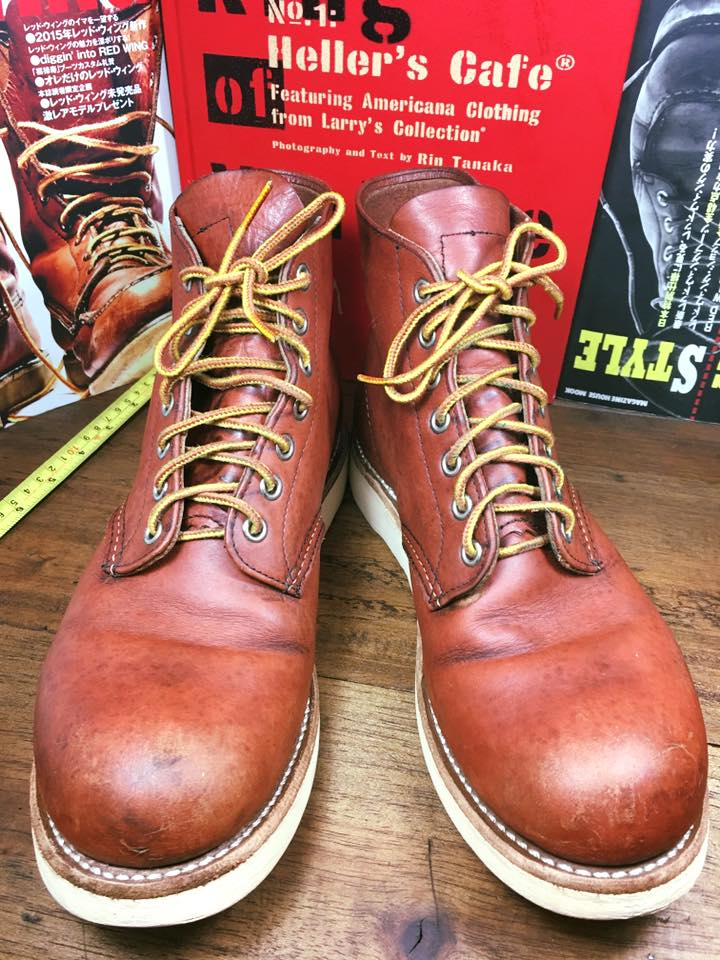 29.RED WING 8166 size 8.5.D