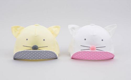 หมวกเด็ก แก๊ปหน้าหมี (Hat - BQ)
