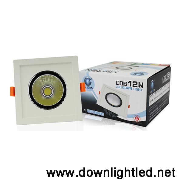ดาวน์ไลท์ LED IWACHI 12W (แสงขาว)