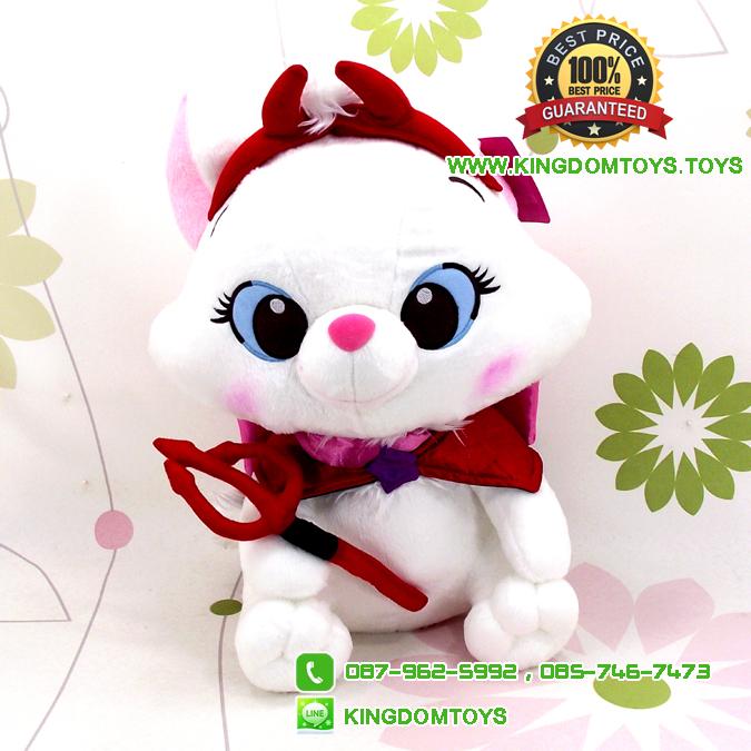 ตุ๊กตาแมวมารี Devil 14 นิ้ว [Disney]