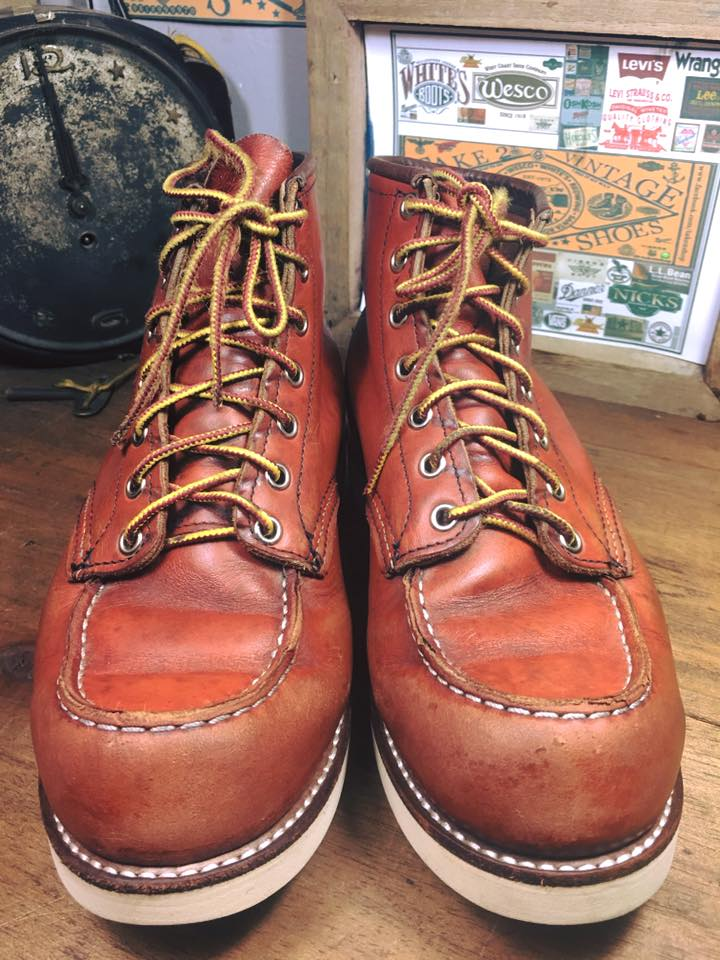 *3. Vintage RED WING 8131 เบอร์7.5E*