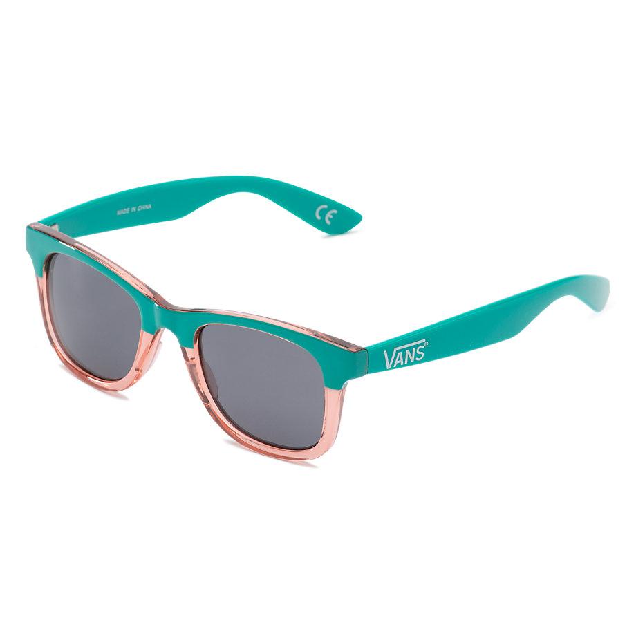 Vans Janelle Hipster Sunglasses - Columbia Pink Lady Translucent