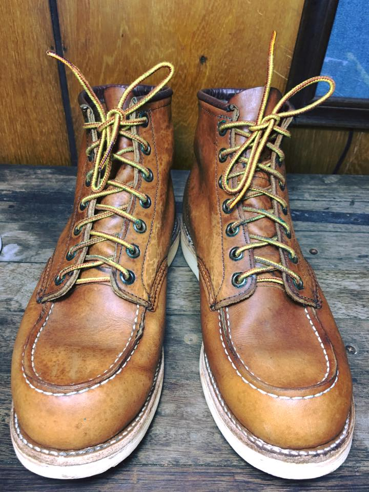 RED WING 875 made in USA size 8E