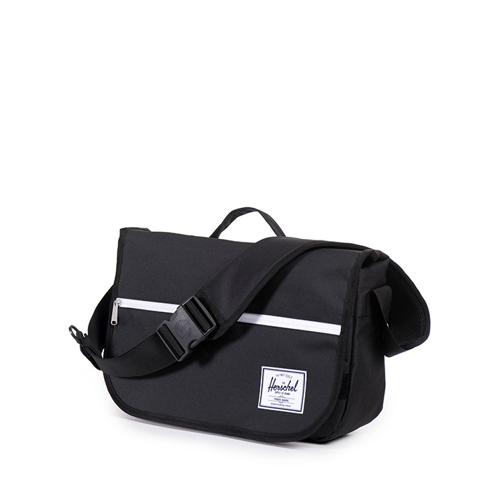 Herschel Pop Quiz Messenger - Black
