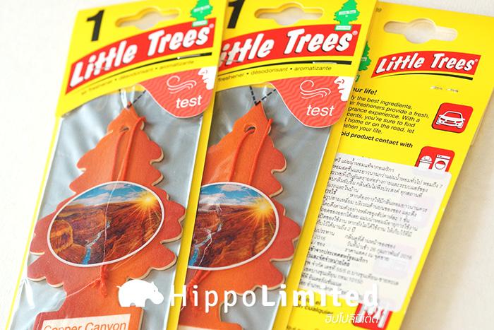 แผ่นน้ำหอม Little Trees Air Freshener - Copper Canyon