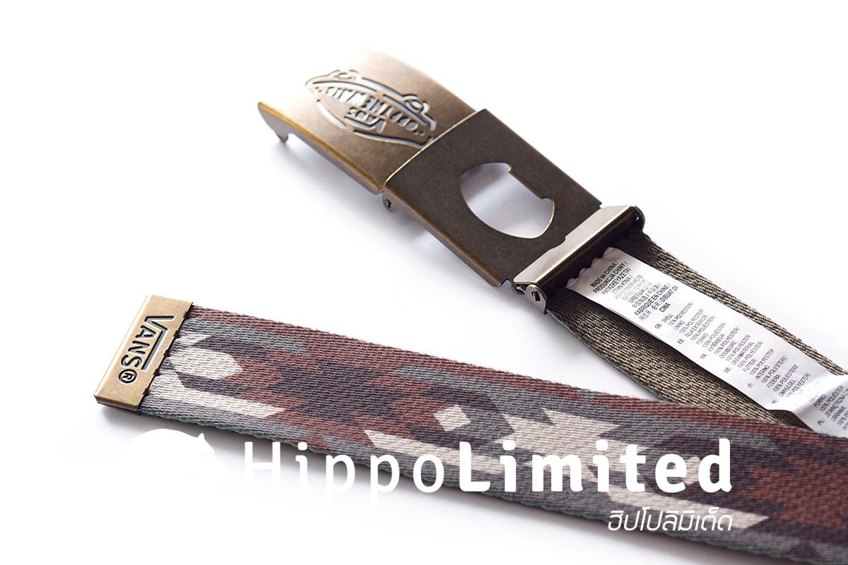 Vans Reverse Web Belt - Native Camo