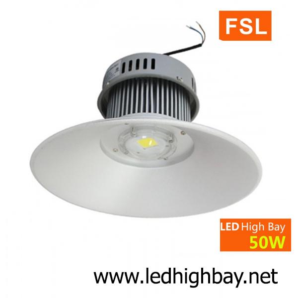 โคมไฮเบย์ LED 50w รุ่น HIB ยี่ห้อ FSL (แสงขาว)